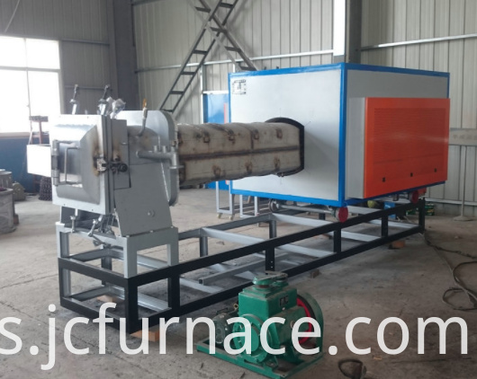 Push rod annealing furnace show