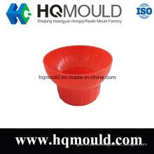 Molde de inyección de tapa de plástico con certificación ISO