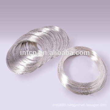 Silver alloy wires