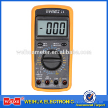 Multímetro digital DT9208A CE con temperatura con prueba LOGIC con frecuencia con retención de datos