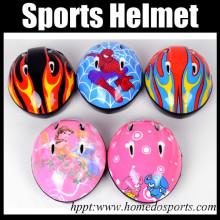 Soft plastic adjustable kids sports helmet