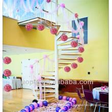 Newest artificial flower ball wall decor