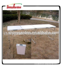 Protable folding beer table Camping table Beach table