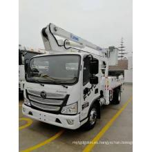 Camión con plataforma de trabajo aéreo Foton