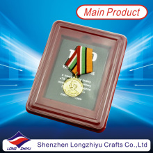 Custom Army Medal Military Medallion with Plastic Box (lzy00106)