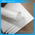Folha de ptfe virgem branco personalizado boa qualidade por atacado