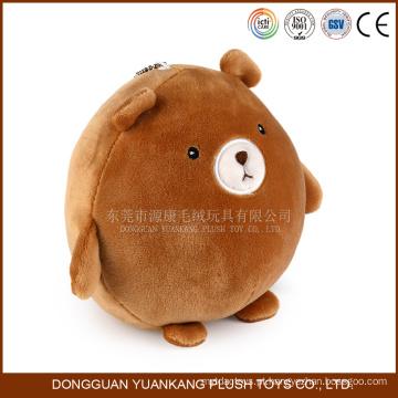 12 centímetros bonito Mini Brown Ursinho de pelúcia Chaveiro