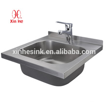 Commercial Stainless Steel Hand Sink, Wall Hung Stainless Steel Hand Sink for School