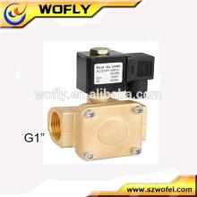 Válvula de solenóide 230v de água de tipo piloto de alta pressão
