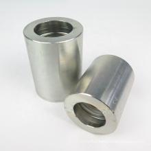 Galvanized Zinc Plated Hydraulic Hose Ferrule 00110 One Wire Hose Connector