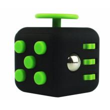 Fidget Würfel Anti Stress 6 Seitenwürfel Beste Aufmerksamkeit Spielzeug für Erwachsene 3.3cm blank