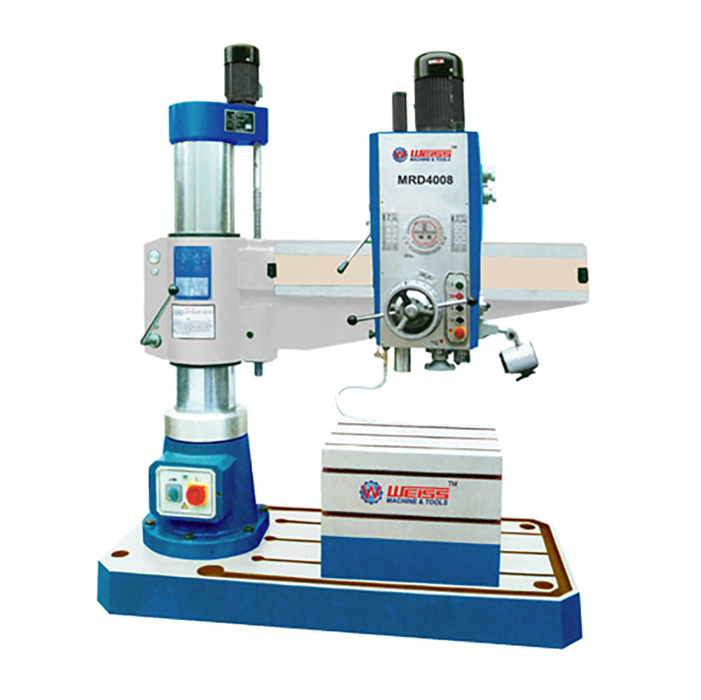 Radial Drilling Machine Spindle Stroke