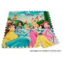 Игрушки с изображением мозаики принцессы EVA Mat 9PCS Toys