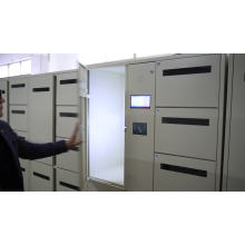 YS Locker 8 Door Steel Modern  Hotel Host Metal Clothes Luggage Storage Cabinet Pedestal Locker