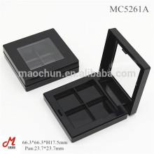 MC5261A 4 puits oeil ombre cosmétiques boîte emballage carré