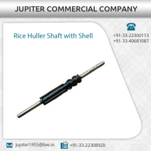 Rice Huller Shaft With Shell, Best Quality Machine Parts