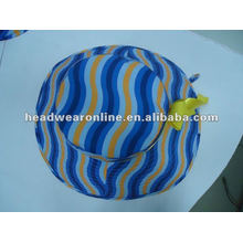 2012 fashion bucket hat with printed logo