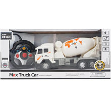 Quatro Caminho Luz Controle Remoto Caminhão Mixer Toy