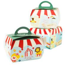Cartón de impresión de calidad Mini Cupcake Packaging Paper Boxes