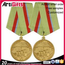 Insignia de medalla de honor militar hecha a mano de metal