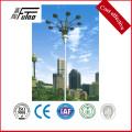 20-45 meters steel light pole for stadium lighting
