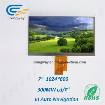 Certificat RoHS Personnalisation de la taille Panneau tactile TFT LCD Display Module