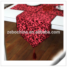 100% Polyester Wholesale Handmade Embroideried Table Runner Factory
