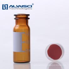 Tipo de fenda OEM 11 mm Vermelho PTFE Branco Silicone Septa