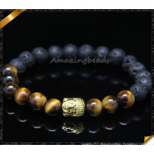 Metal Alloy Charms Beads Bracelets with Stone Jewelry (CB0105)