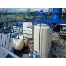 La máquina recicladora de aceite de motor rentable y ambiental convierte las llantas de desecho en pirólisis de china diesel