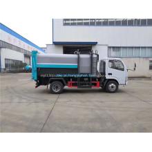 Veículos pequenos de coleta e transporte de lixo