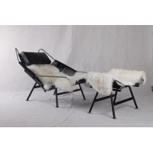 Zwart PP225 Hans Wegner Flag Halyard Chair Replica