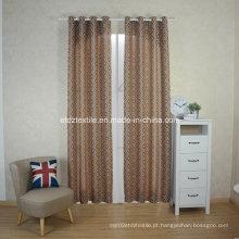 European prefer linho como cortina de janela jacquard