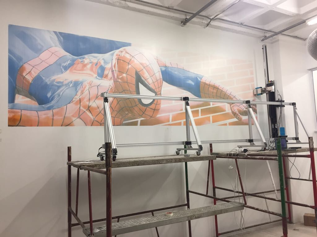 Large Format Wall Printer