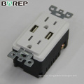 Competitive price waterproof GFCI outlet usb socket