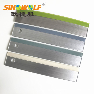 Dijual Hot Double Color 3D Acrylic Edge Banding