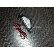 Lámpara de la placa de matrícula para la luz universal de la placa de matrícula del carro