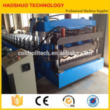 Rollo de azulejo esmaltado que forma la máquina para la anchura de la hoja de GI / PPGI 1000 / 1250m m