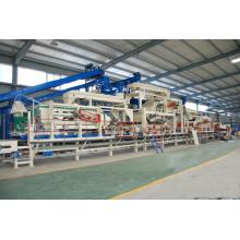 Holzbearbeitung Mittlere Dichte / hohe Dichte Faserplatte Voll Automatische Produktionslinie
