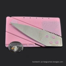 Mini bolso de cartão de crédito faca multi-funcional sobrevivência camping equipamentos ao ar livre