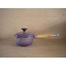 Enamel Cast-Iron Sauce Pan