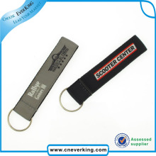 High Quality Nylon Lanyard Wholesale Embroidery Keychains