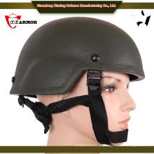 China atacado Kevlar militar kevlar capacete balístico