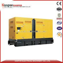 160kw 200kVA Doosan Super Silent Diesel Generator Set (Engine P086TI)