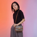Brown Crossbody Messenger Satchel Type Handtaschen