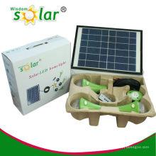 CE y patente aprobada led lámpara solar casa JR-SL988A