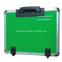 Aluminium Rolling Case with Integrated Trolley System (HP-3207)