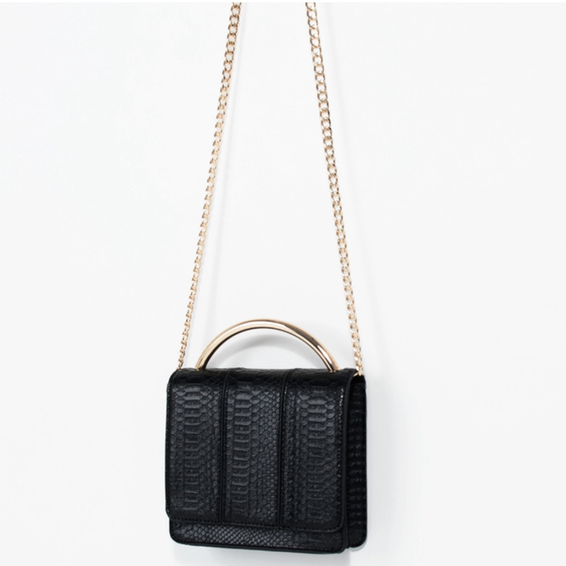 Metal Chain Shoulder Bag