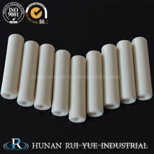 Tubo de cerámica técnico 99% alúmina con buena resistencia térmica