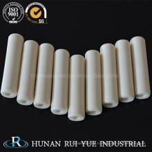 Techincal 99% глинозема керамическая труба с хорошей тепловой устойчивостью